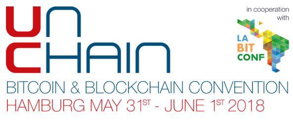 UNCHAIN Bitcoin & Blockchain Convention (Hamburg, Germany)